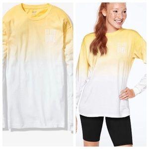 Vs pink long sleeve campus shirt